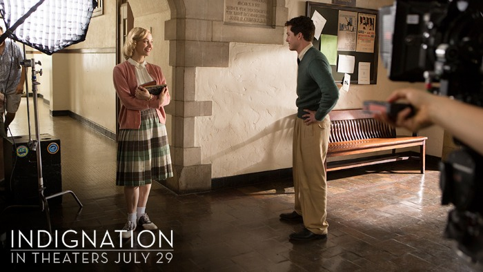 Indignation movie still