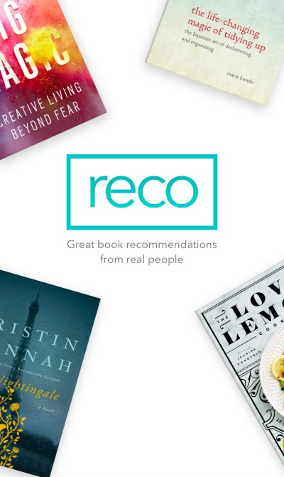 RECO app- book recommendations app