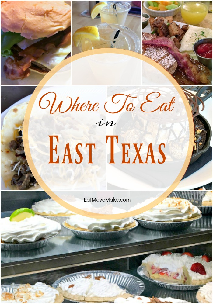 Where to Eat in East Texas (restaurants in Tyler TX and restaurants in Longview TX)