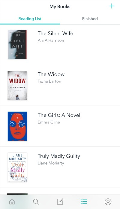 reco - list of books to read