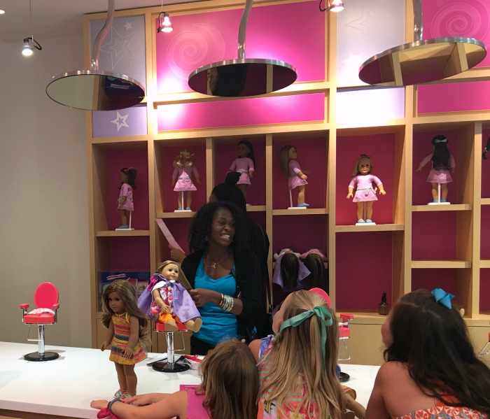 Alpharetta American Girl store salon