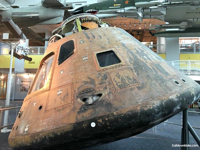 Apollo 12 Command Module - Virginia Air & Space Center Hampton VA