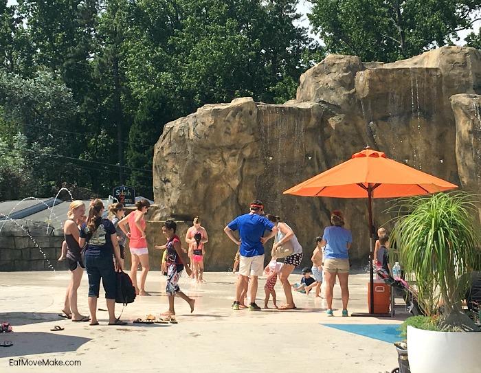 Riverbanks Zoo Columbia SC - Waterfall Junction