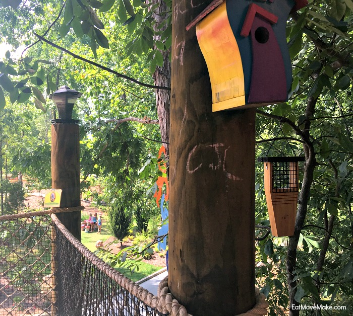 children's garden tree house - Riverbanks Zoo and Gardens