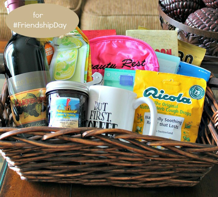 ec32bad2af53 Make a Friendship Gift Basket with a few Favorite Things