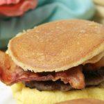 Maple Pancake Breakfast Sandwiches