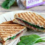 Grilled Cheese Panini with Fig and Prosciutto