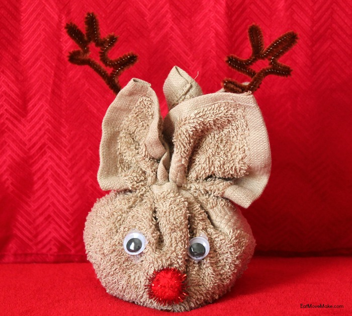 rudolph-the-reindeer-washcloth-craft