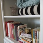 How to Decorate Deep Built-In Shelves