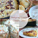 Thanksgiving Weekend Breakfast Ideas