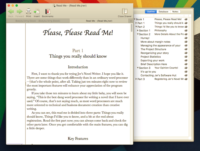 How to write an ebook: Jer's Novel Writer for ebook writing