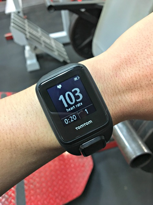 TomTom Spark 3 heart rate