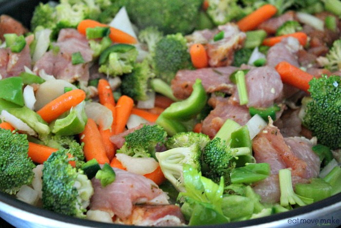 pork loin stir fry
