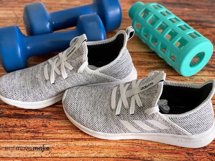 Adidas cloudfoam pure shoes