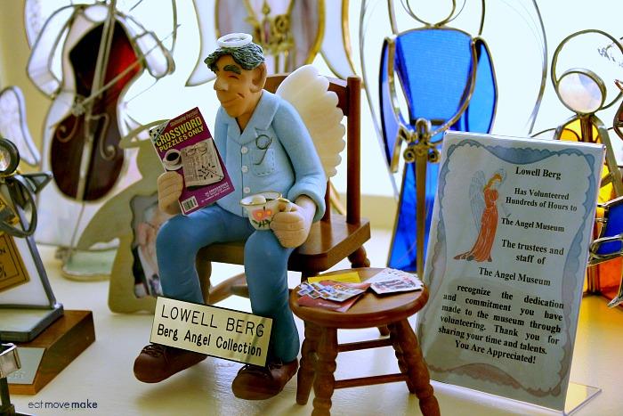 Lowell Berg angel - The Angel Museum - Beloit WI