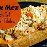 Easy Tex-Mex Stuffed Sweet Potatoes