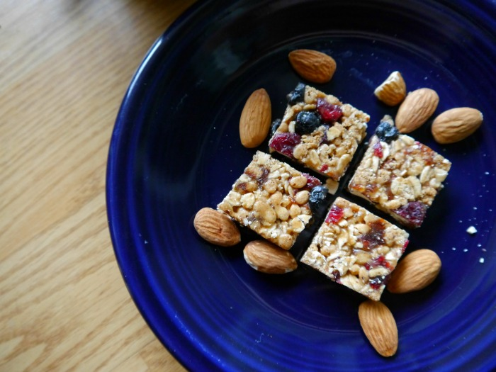 goodnessknows snack squares almonds