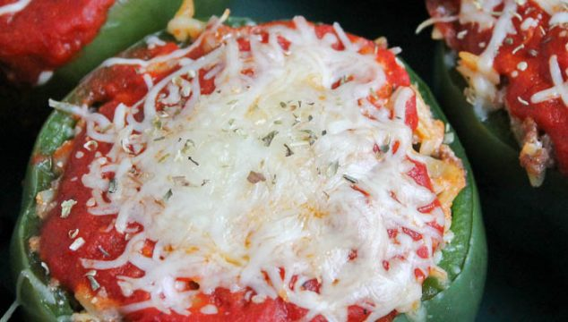 Italian stuffed peppers recipe