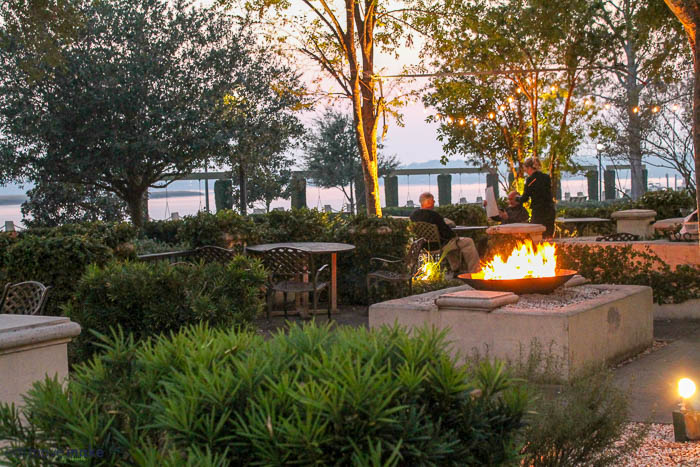 Saltus River Grill outdoor patio - Beaufort SC