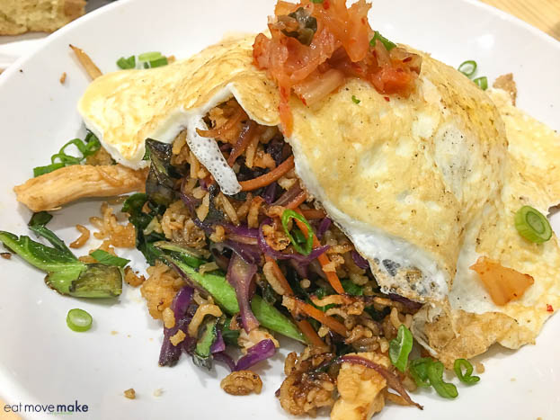 Breakfast fried rice at The Stockpot Virginia Beach