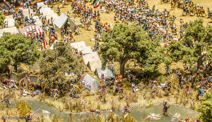 diorama of the battle of San Jacinto - The Bryan Museum