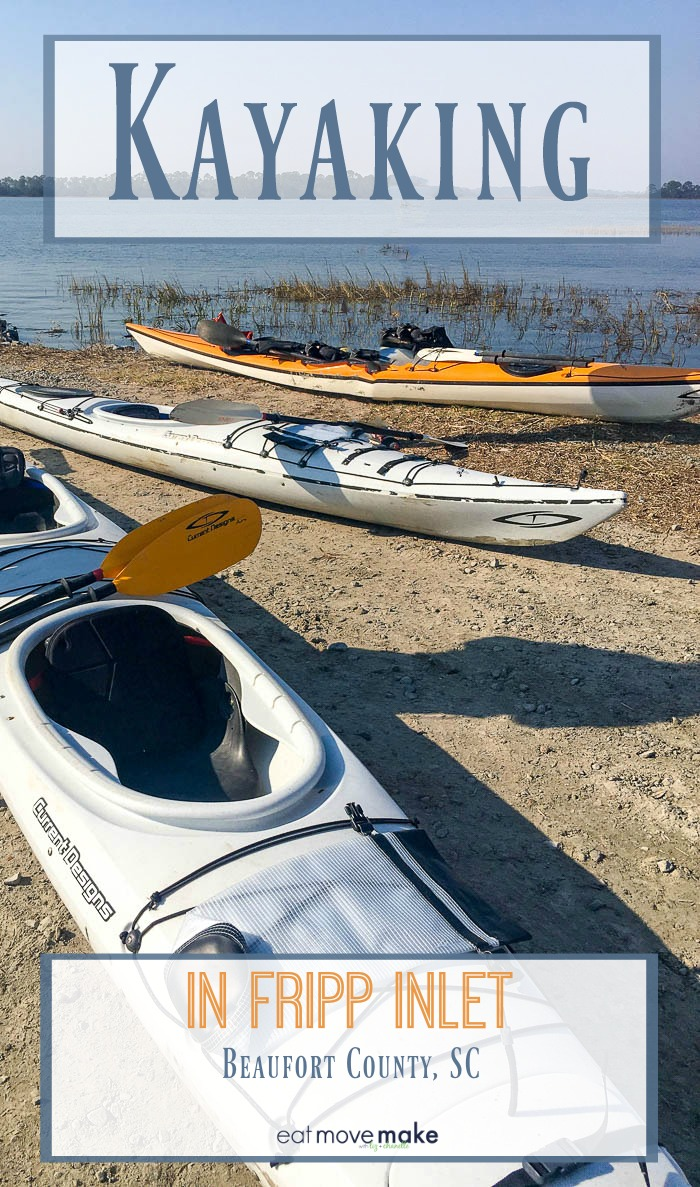 kayaking in Fripp Inlet - Beaufort County, SC