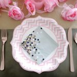 Pink & Rose Gold Tablescape for Spring!