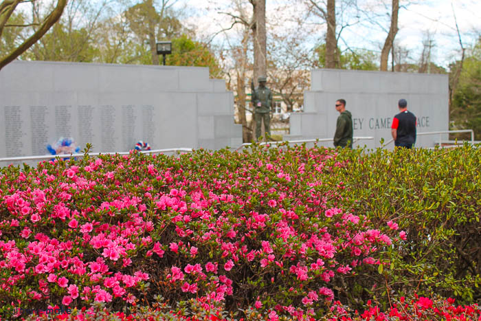 Beirut Memorial - Lejeune Memorial Gardens