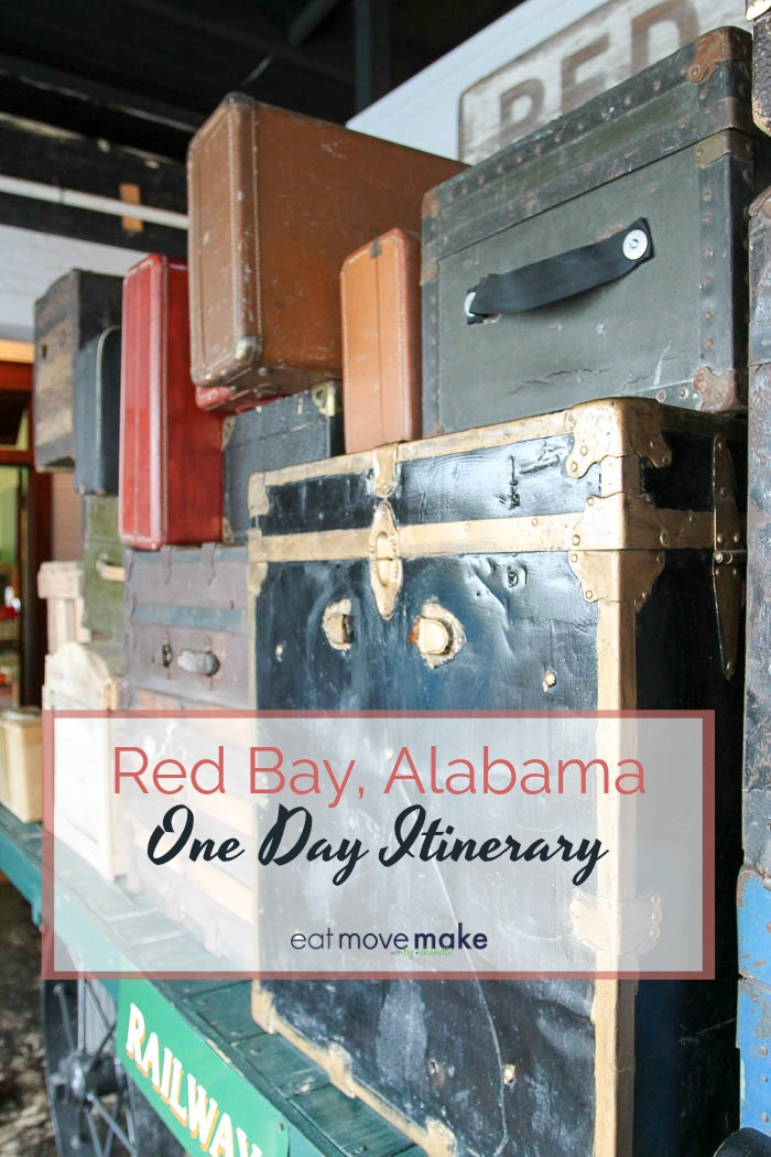 Red Bay Alabama one day itinerary