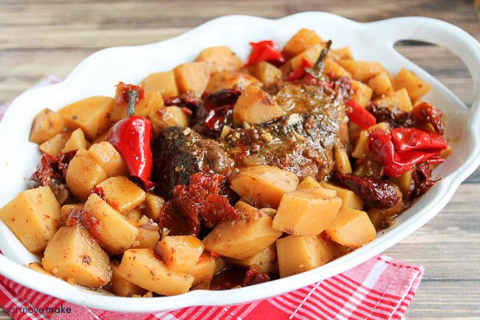slow cooker sirloin tip roast recipe