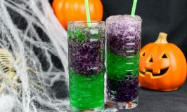 Slimy Slurpie for Halloween