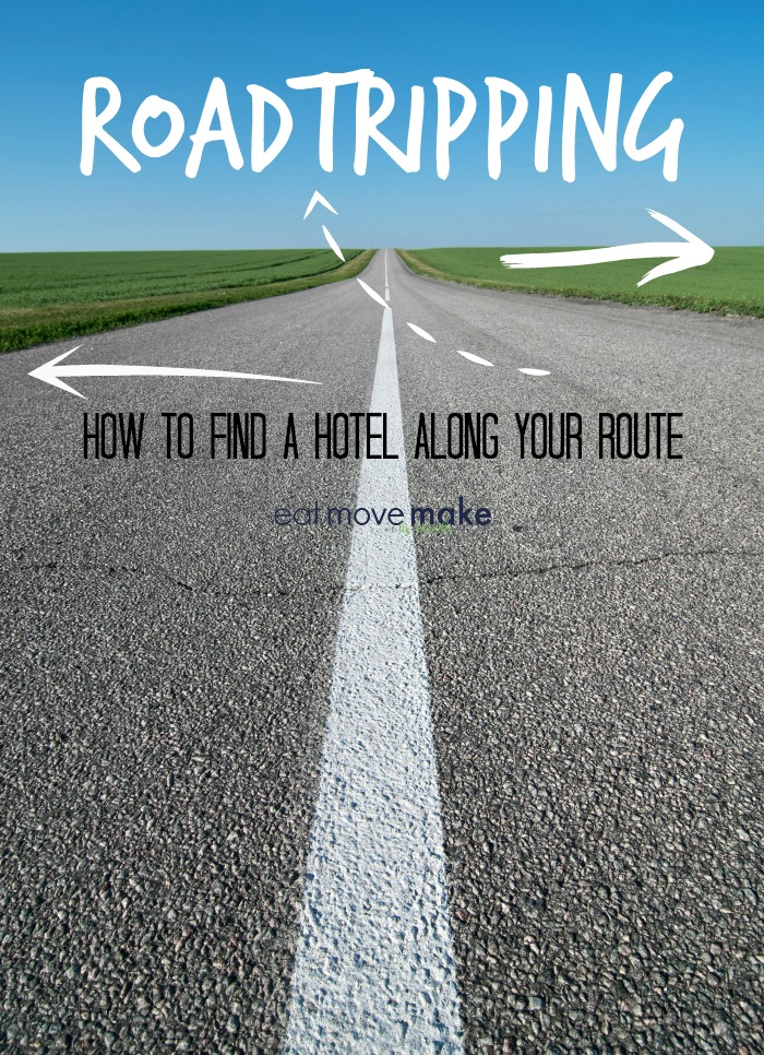 find hotels along a route