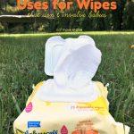Summertime Uses for Johnson's Hand & Face Wipes
