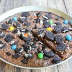 Oreo Brownie Pizza
