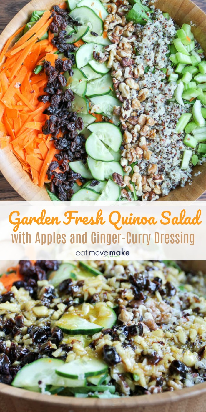 Garden Fresh Quinoa Salad with Apples and Ginger Curry Dressing700 x 1400 jpeg 299kB