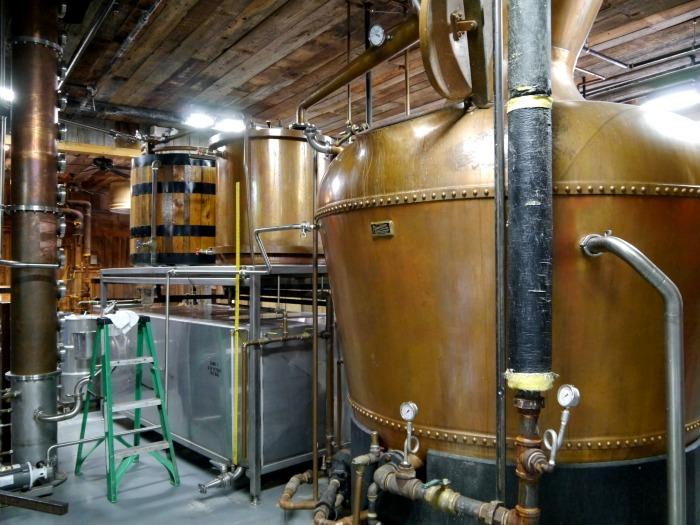Ole Smoky moonshine distillery tour