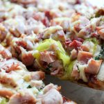 BBQ Pheasant & Gouda Pizza (Inspired by a Visit to MacFarlane Pheasant Farm in Janesville WI)