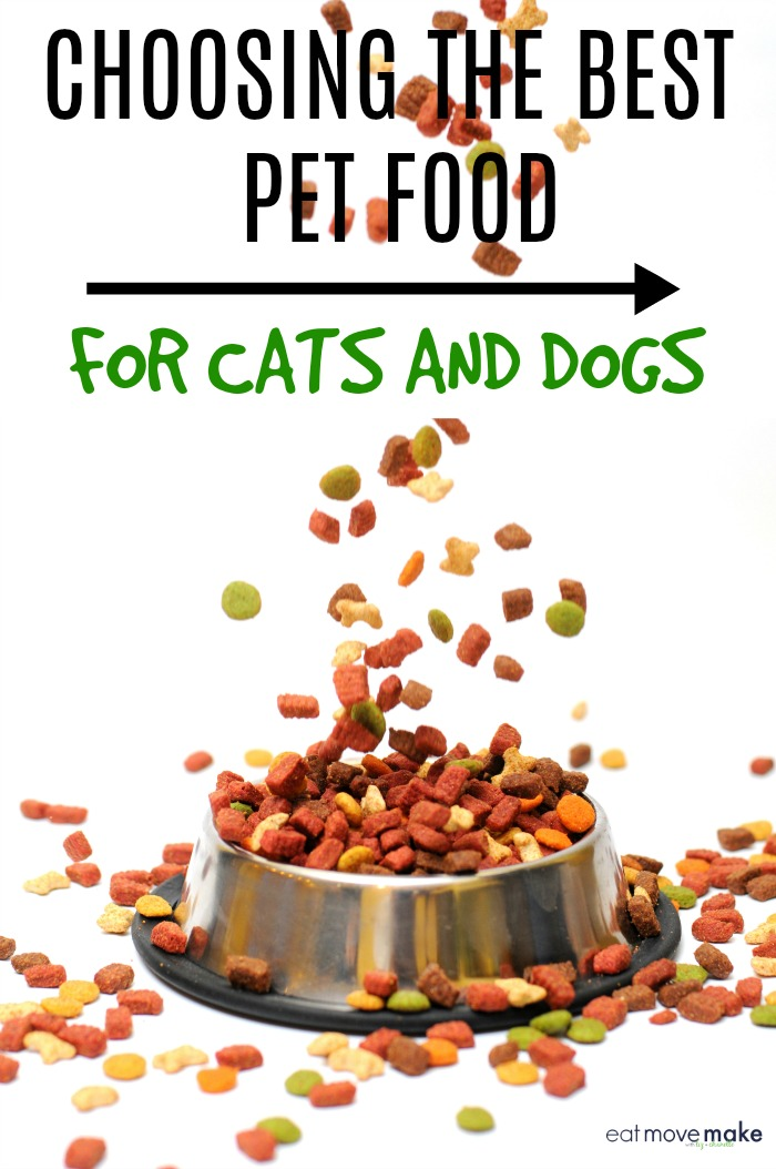 Choosing The Best Food For Cats And Dogs