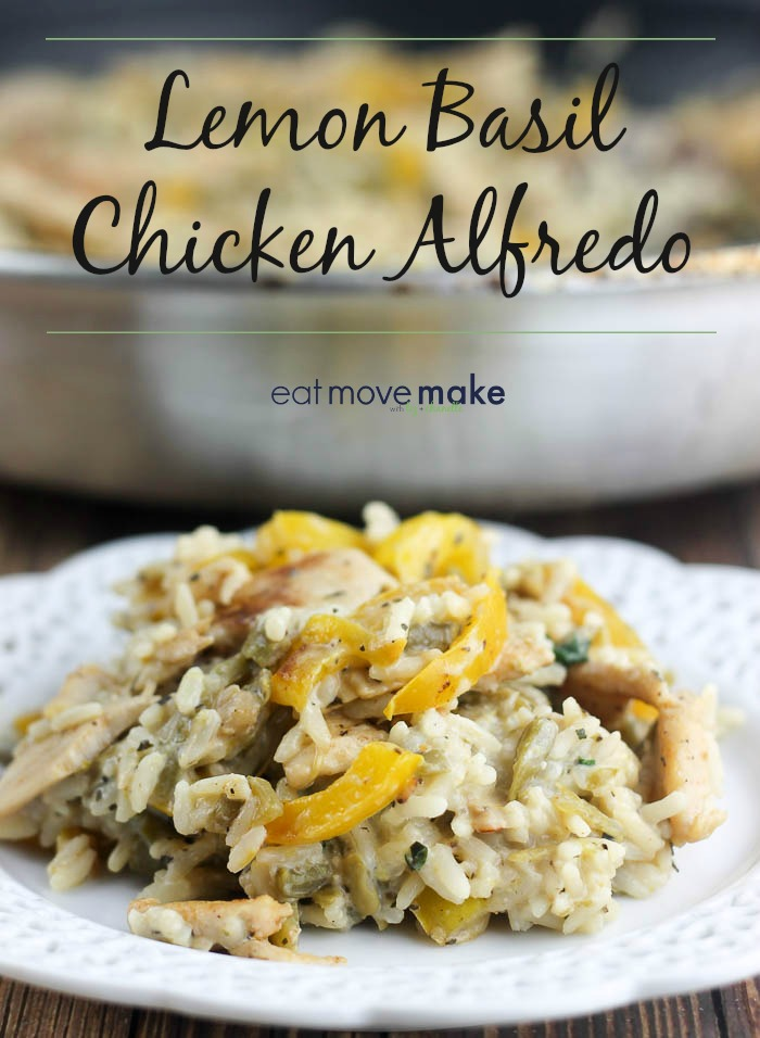 lemon basil chicken alfredo