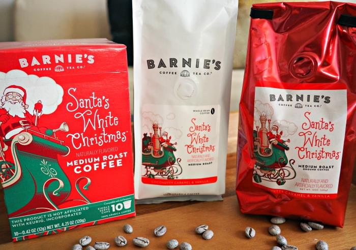 Barnie's Santa's White Christmas