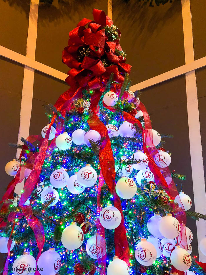 The holiday decorations are part of a designer contest, so if you find a few favorites, vote for them on the Southern Christmas Show website or Facebook ...