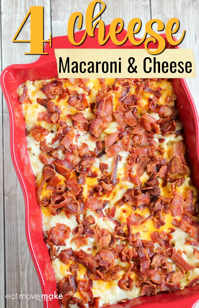 Four Cheese Macaroni and Cheese with Bacon - Best Mac ...