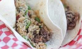 Japanese-Inspired Shredded Beef Tacos