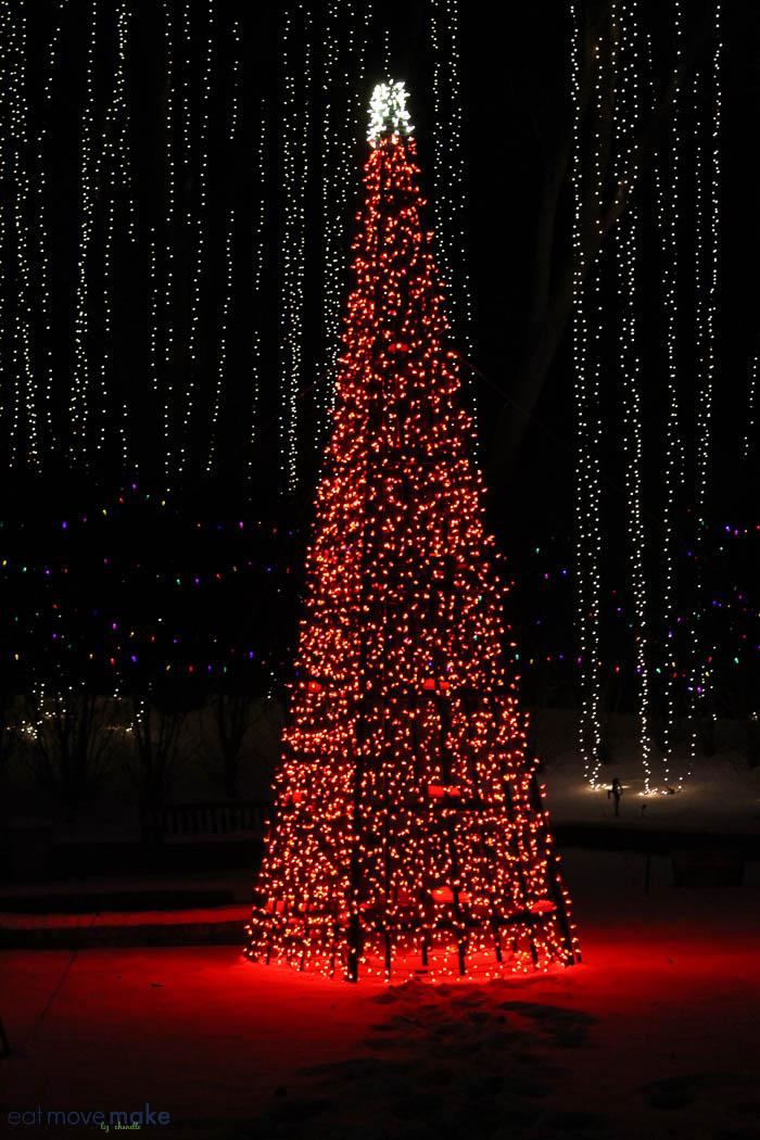 Luminaries Spectacular Lighting Display. Lighting A Halfmillion Twinkling  Lights Luminaries Decorations And Spectacular Christmas Tree