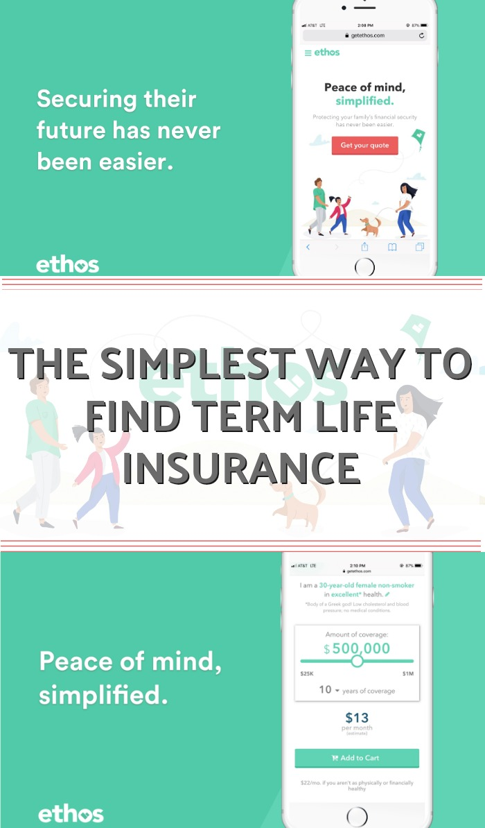 Ethos life insurance - the simplest way to get term life insurance. It puts you in the driver's seat. No agents, no upselling, 100% free online process.
