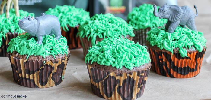 Jumanji Cupcakes For A Jumanji Welcome To The Jungle Party