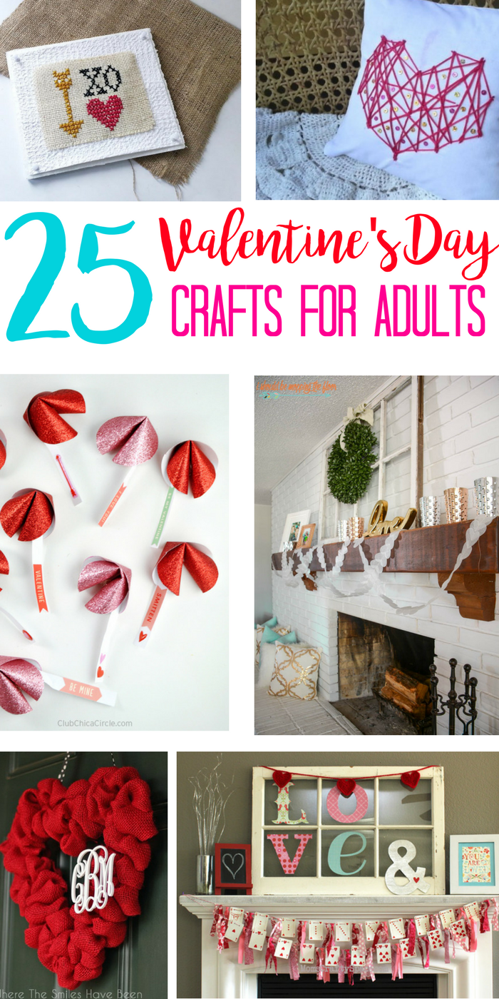 Valentine Crafts For Adults Why Should Kids Have All The