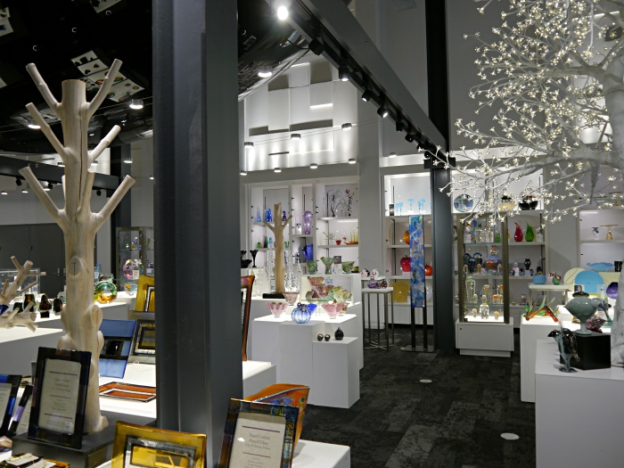 Corning Glass Museum gift shop