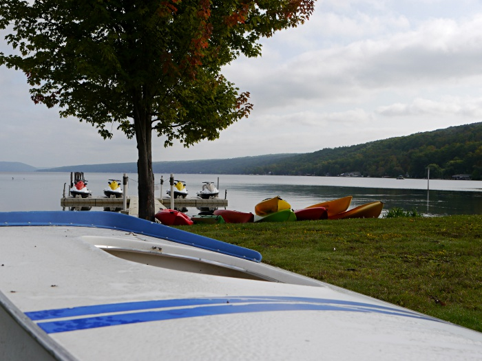 Corning kayaking and paddleboarding at Keuka Lake