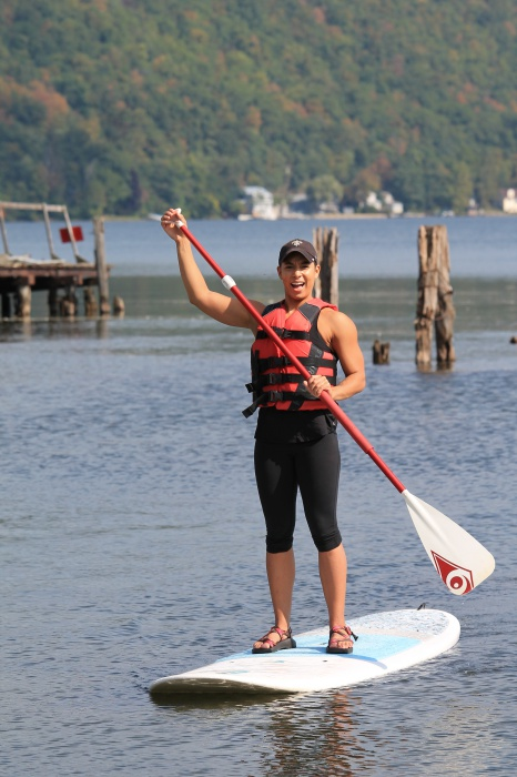 Keuka Lake paddleboarding